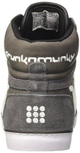 Drunknmunky Boston Classic, Baskets Gris Pour Homme (gris Noir)