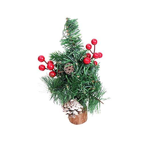 Tannenzapfen Schreibtisch (Busirde Weihnachtsbaum Hängen Tannenzapfen Holz Pinecone Bälle Home Office Verzierung Ornament Tisch Schreibtisch Baum rot)