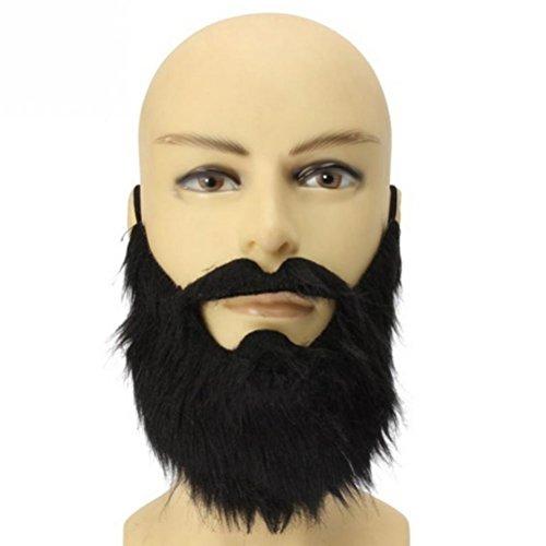 rt schwarz bärtiger Mann lustige Schnurrbart Kostüm Party Gefälschte Mustaches Whisker Festival Supplies ()