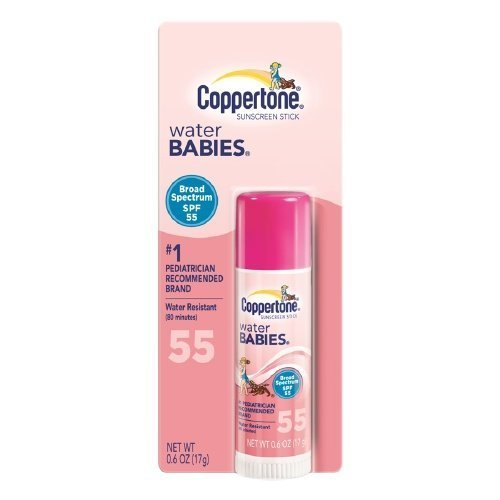 coppertone-water-babies-sunscreen-stick-spf-55-06-fl-oz-17-gpack-of-2-by-coppertone