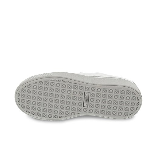 Puma Suede Platform, Sneakers Basses Femme Gris