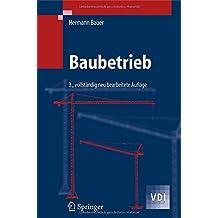 Baubetrieb (VDI-Buch)