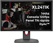 BenQ ZOWIE XL2411K 24 inch 144Hz Esports Gaming Monitor | Dynamic Accuracy & Black eQualizer & Color V