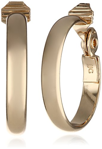 anne-klein-classics-gold-tone-wide-hoop-clip-on-earrings
