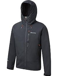 Sprayway Men's Naxos Hydro/Dry Softshell Walking Jacket - Black