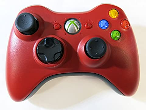 Xbox 360 Wireless Controller Rot (Resident Evil Edition) (Resident Evil Controller)