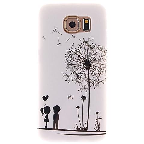 Nancen Samsung Galaxy S6 / G9200 (5,1 Zoll) Ultra Slim Weich TPU Material Design Silikon Handytasche Schutzhülle, Painted Mode Anti-Kratz Handyhülle Case Hülle Backcover