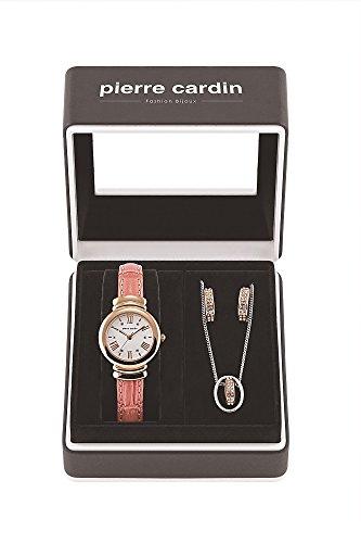 Pierre Cardin Uhr PCX6188L264 Geschenk Set Schmuck Damen