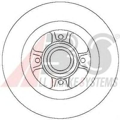 A.B.S. 17029 Disque de frein