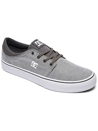 DC Shoes Trase Tx Se, Baskets mode homme Gris - Grey/ White