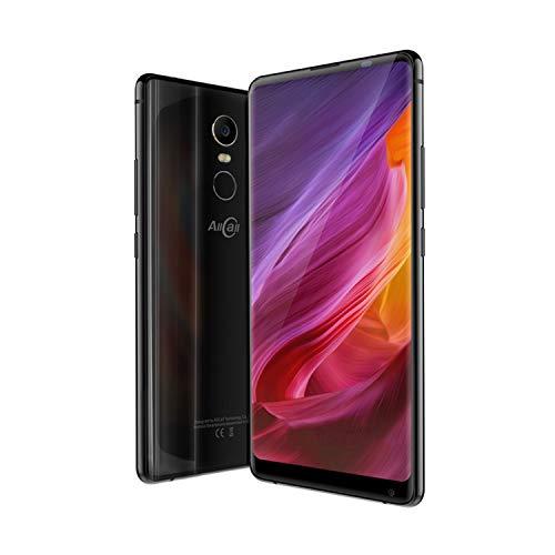 Los teléfonos celulares ofrecen los smartphones AllCall Mix2 (2018) 4G-LTE Dual SIM, Android 7.1 5.99 pulgadas pulgadas IPS FHD + 1080 x 2160- 428 ppi teléfono celular Gafas de recambio. memoria del teléfono + ID de cara e ID de dedo, 16V 2.0, un cargador rápido de Qi, batería 8mAh