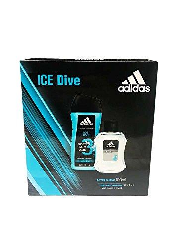 adidas Geschenkset Men Ice Dive (After Shave 100ml & 3in1 Shower Gel 250 ml)