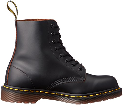 Dr. Martens 1460Z Vintage 8 Eye Boot BLACK Stivaletti, Unisex Adulto Black