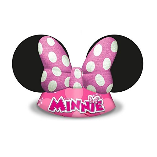 6 x Minnie Mouse Hüte ┃ für Kinder und Erwachsene ┃ Kindergeburtstag ┃ Kinder lieben diese Maus Hütchen Verkleidung ✔