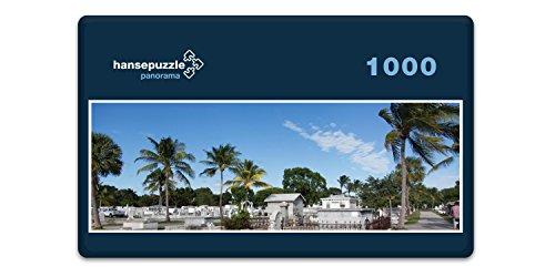 hansepuzzle 33175 Panorama-Puzzle: Key West, 1000 Teile in hochwertiger Kartonbox, Puzzle-Teile in wiederverschliessbarem Beutel