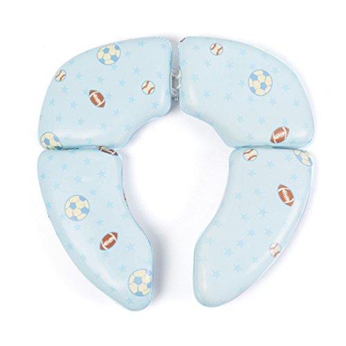 Pretty see vasino bambino wc cover portable training cuscino pieghevole carino sedile vasino da viaggio per bambini