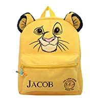 Personalised Official The Lion King Simba Roxy Backpack - TV Movie School Bag Gift Present