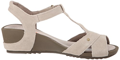 Merrell Women's Revalli Link Sandal,Simple Taupe,10 M US Simple Taupe