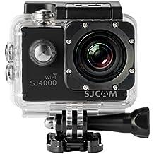 SJCam SJ4000 - Videocámara deportiva (WiFi , Full HD, 2'' LCD, sumergible 30 m) color negro