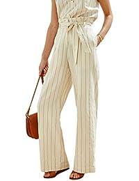 99b656a17c Cyrillus Pantalon rayé Extra-Large Femme