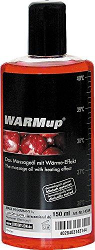 Joydivision WARMup Massageliquid Kirsch, 150 ml (öl Sexy)