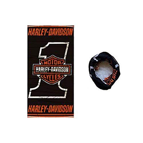 Dodo® - Sciarpa multiuso Harley Davidson da motociclista, passamontagna, tubolare, fascia, scaldacollo, b
