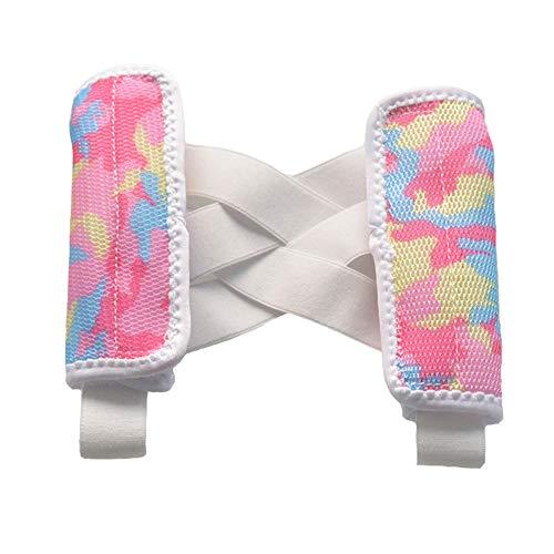 Sommer-Leichtbau-Rückenstütze verstellbare atmungsaktive und komfortable Haltungskorrektur für Kinder-Camouflage,M