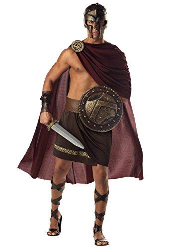 Spartan Warrior Fancy Dress Costume ()