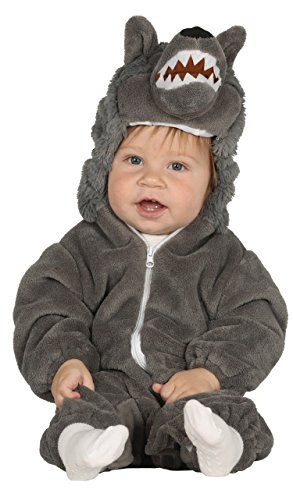 Guirca–Kostüm Wolf Baby, Größe 6-12Monate (87592.0)