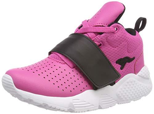 KangaROOS Unisex-Kinder Kangablaster Hi Sneaker, Rot (Daisy Pink/Jet Black 6122), 28 EU -
