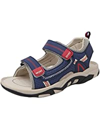 4d2734866 Insun Sandalias Velcro para Niño Las Zapatillas de Deporte Zapatillas de  Deporte Al Aire Libre