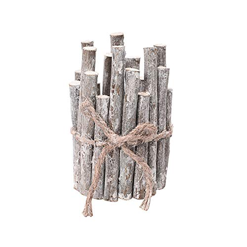 Leisial Weihnachten Creative Kerzenhalter Retro Kerzenhalter Kerzenständer Romantisch Kerzenzubehör Kerzen Weihnachtsdekoration Holz
