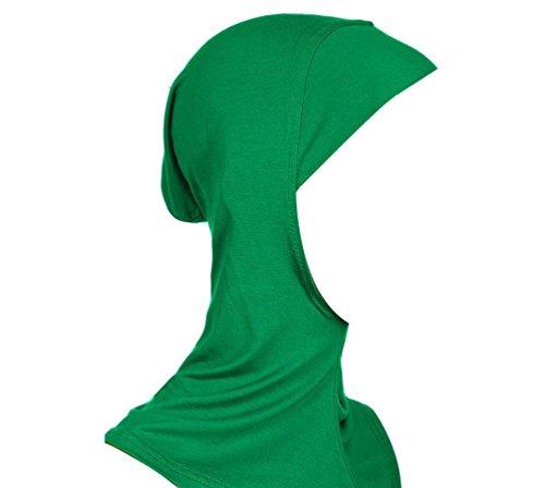 Damen Hijab Kopftuch Islamisch Kopfbedeckung Turban Bedecken Motorhaube Hals Brust Kopftücher