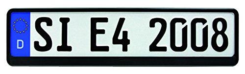 HP-Autozubehör 18508 Kennzeichenhalter SW