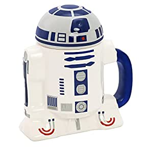Star Wars R2-D2 Ceramic Cup with Lid, STAR185