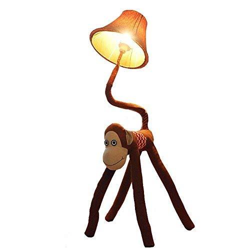 Tissu de bande dessinée créative Singe chambre de bébé lampadaires chambre d'enfant mignon étage lumière garçon fille chambre lampadaire