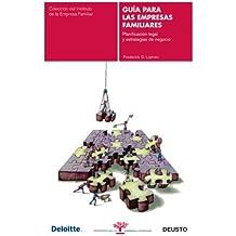 Guía para las empresas familiares: Planificación legal y estrategias de negocio