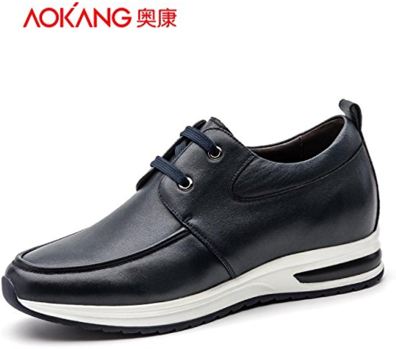 [Aumentar] Aemember en zapatos de hombre y zapatos cómodos de Hombres Jóvenes mordaza ,41, azul