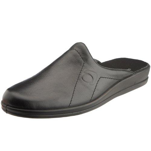 Rohde - Pantofole, Uomo Nero (Schwarz (90 schwarz 90))