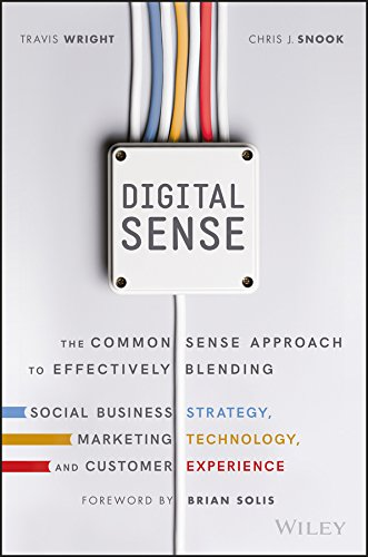 Digital Sense: The Common Sense Approach to Effectively Blending Social Business Strategy, Marketing Technology, and Customer Experience por Travis Wright
