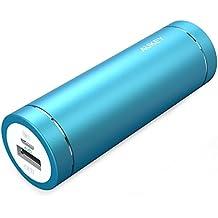 Aukey PB-N37 - Batería externa portátil de 5000 mAh color azul