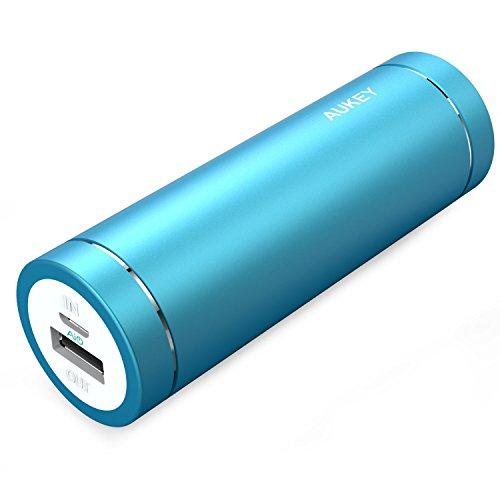 2. Aukey PB-N37 - Batería portátil 5.000 mAh