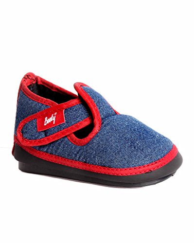 Indman Kid's Shoes - Navy Red Color