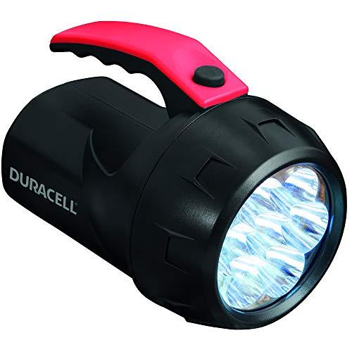 Duracell FLN-2 Taschenlampe, Explorer Floating Lantern, 70 Lumen, LED-Licht, Schwarze Kunststoffbeschichtung, Duracell-Batterien im Lieferumfang enthalten, 1 Stück
