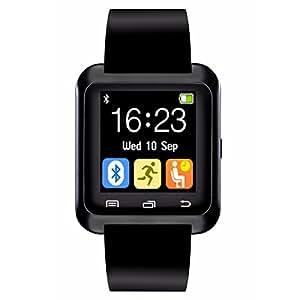 CHEREEKI Smartwatch Bluetooth Smart Watch Intelligente Vigilanza Telefono Bracciale Fitness Bluetooth Wristband Phone con Sport Pedometro per Android Smartphone Samsung HTC Sony LG Huawei