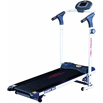 HIGH POWER MAGNETIC WALK tapis roulant magnetico per home-fitness, inclinazione manuale 2 livelli, nastro 35x110, portata 110 KG