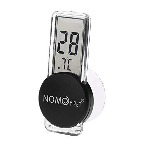 siwetg LCD Digital Reptile Thermometer Temperatur-Feuchtigkeits-Indikator Thermometer Und Hygrometer Für Reptilien