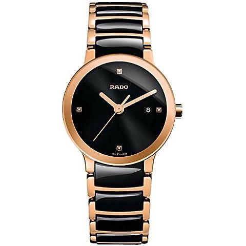 Rado R30555712de la mujer Centrix Cuarzo Analógica Swiss dos tonos reloj por Rado