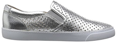 Clarks Glove Puppet, Mocassins Femme Argent (Silver Leather)