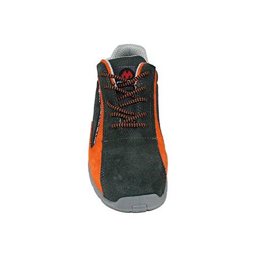 Aimont aF-one s1P sRC chaussures de travail chaussures chaussures berufsschuhe businessschuhe plat vert Vert - Vert